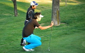 golf program - putt