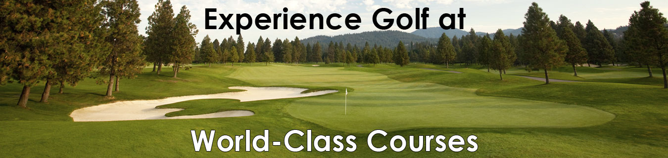 Experience Golf at World-Class Courses
