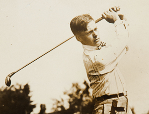Bobby Jones in 1917.