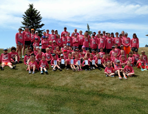 2017 Youth Golf Clinic Tournament Day at Pheasant Country Golf Course with 87 participants!(Photo from Facebook)