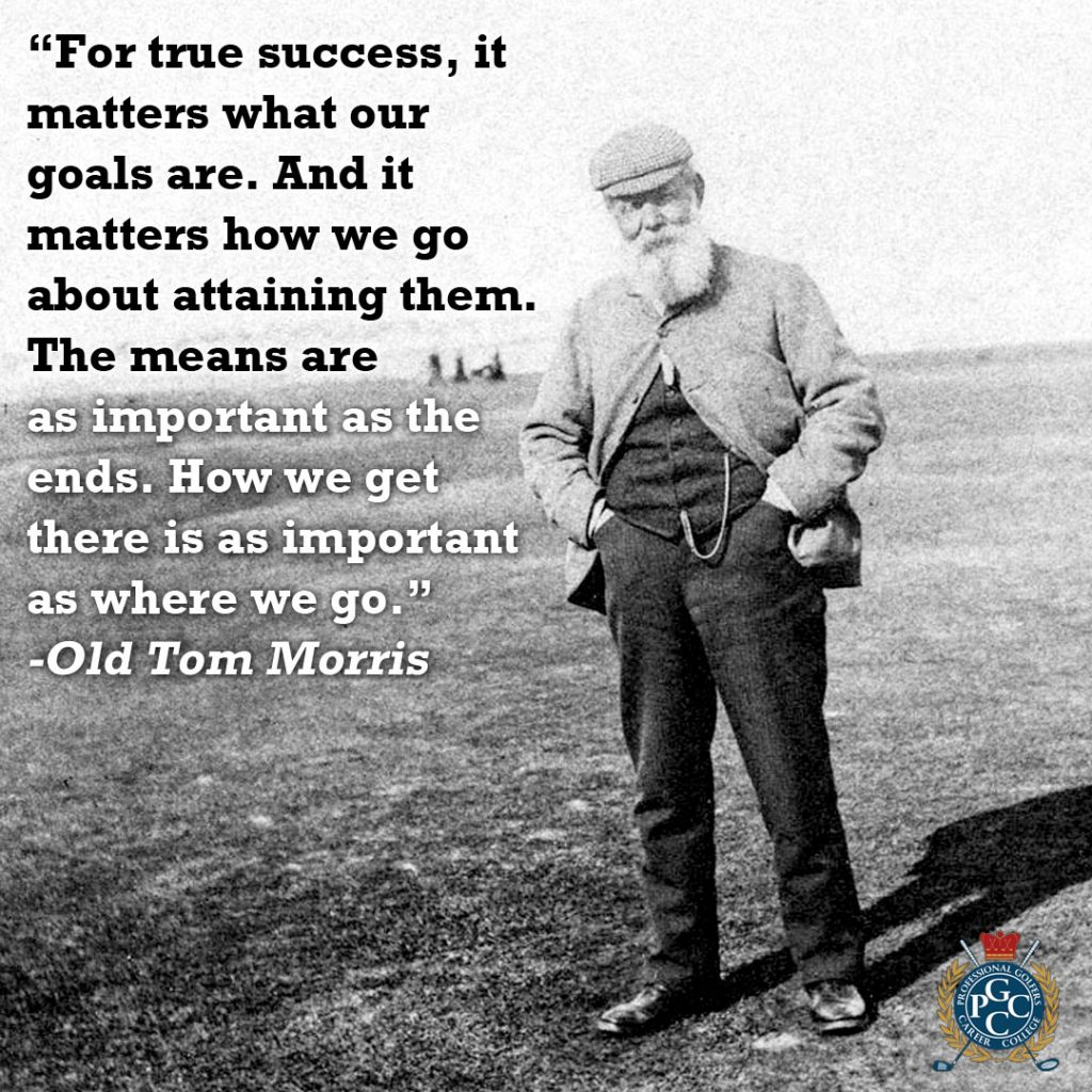 Legendary Golf Quotes on Success | Professional Golfers Career College